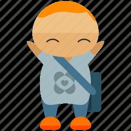 avatar, person, profile, smile, student, user icon