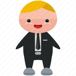 avatar, business, man, person, profile, suit, user icon