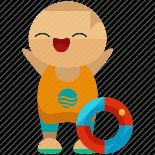 avatar, person, profile, summer, swimmer, user icon