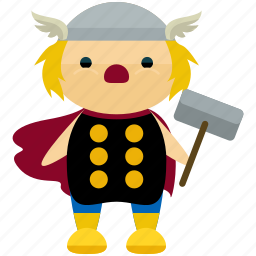 avatar, character, person, profile, thor, user icon