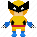 avatar, character, person, profile, user, wolverine