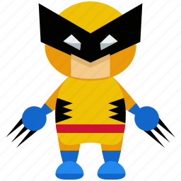 avatar, character, person, profile, user, wolverine icon