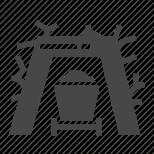 Cart, mine, mining, tunnel, underground, wagon icon - Download on Iconfinder