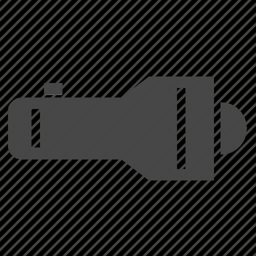 flashlight, light, torch icon