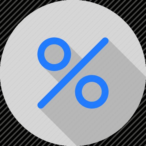 discount, interest, percent, profit, roi, sale icon