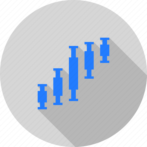 candlesticks, exchange, exchange rate, rate, trading icon