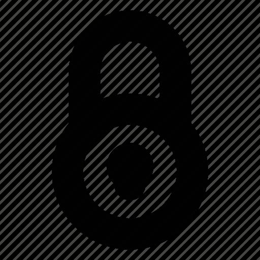 lock, locked, padlock, secure icon