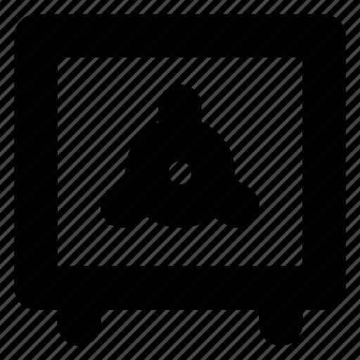 bank, deposit, money, safe, savings, secure, strongbox icon