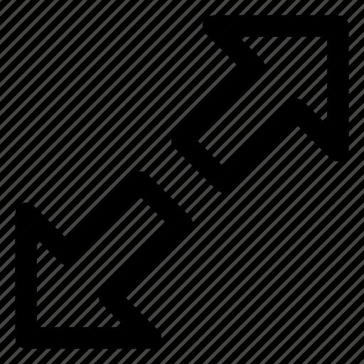 Arrows, cursor, diagonal arrows, directional arrows, pointing arrow icon - Download on Iconfinder