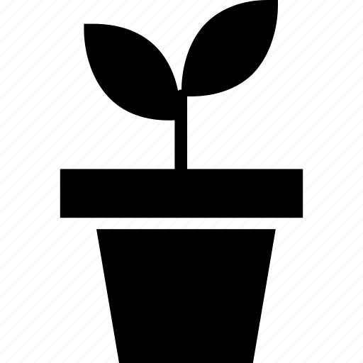 flower, green, leaf, nature, plant, pot, tree icon