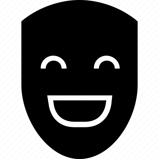 carnival, expression, face, feeling, mask, smile, smiley icon