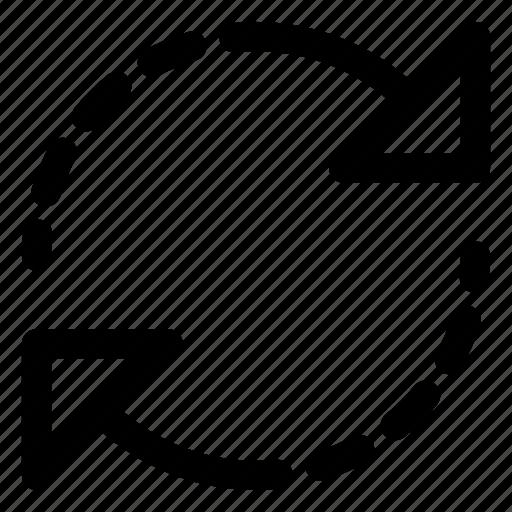Initializing, loading, refresh, sync, synchronization icon - Download on Iconfinder