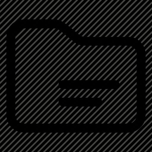 Data folder, data storage, document folder, file storage, folder icon - Download on Iconfinder