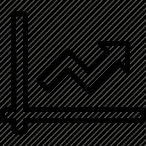 analytics, chart, graph, report, statistics, up icon