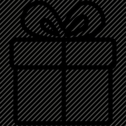 christmas, gift, present, ribbon, santa, xmas icon