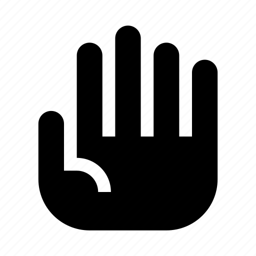 finger, gesture, hand, interaction, stop, warning icon