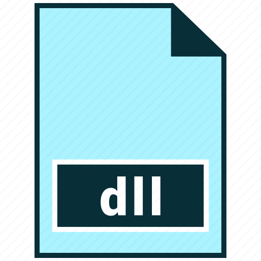 dll, file formats, misc icon