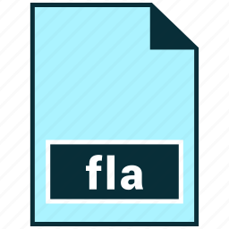 file formats, fla, misc icon