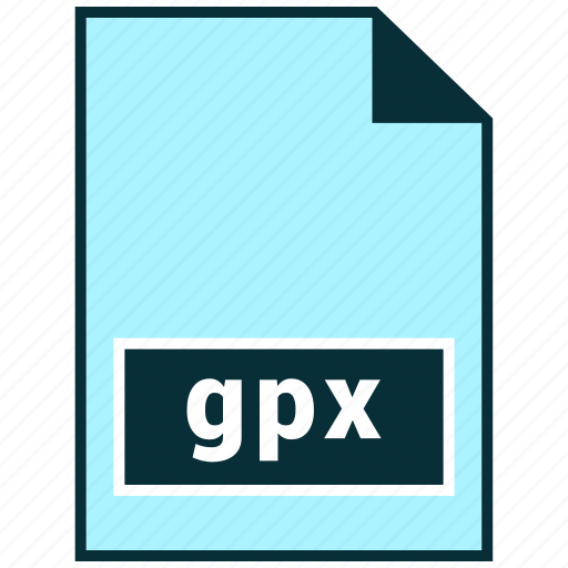 file formats, gpx, misc icon