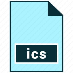file formats, ics, misc icon