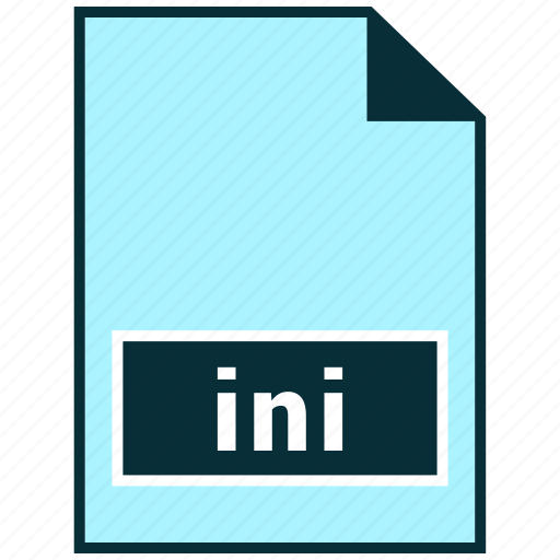 file formats, ini, misc icon