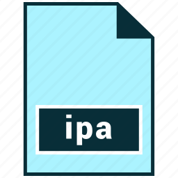 file formats, ipa, misc icon