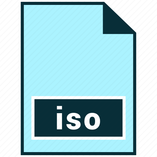 file formats, iso, misc icon