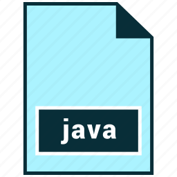 file formats, java, misc icon