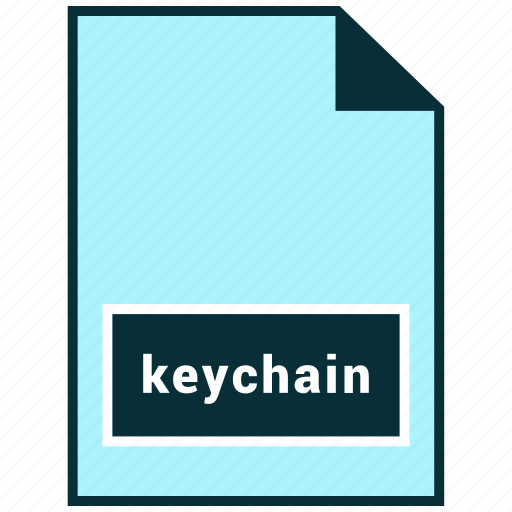 file formats, keychain, misc icon