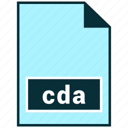 cda, file formats, misc icon