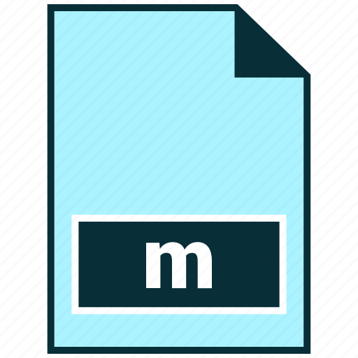 File formats, m, misc icon - Download on Iconfinder