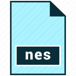 file formats, misc, nes icon