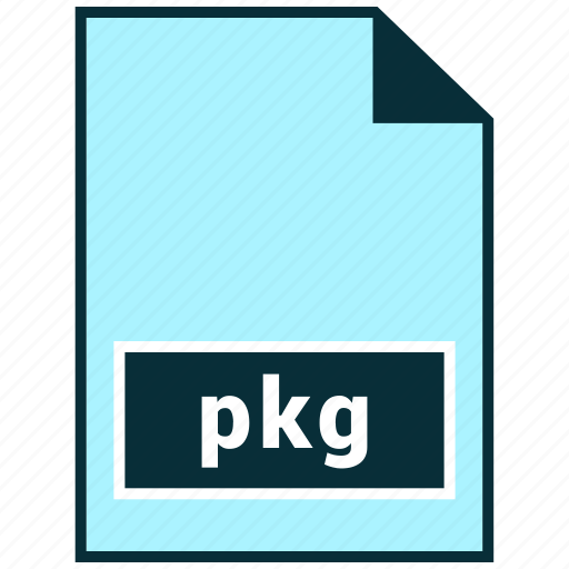 file formats, misc, pkg icon