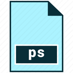 file formats, misc, ps icon