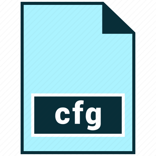 Cfg, file formats, misc icon - Download on Iconfinder