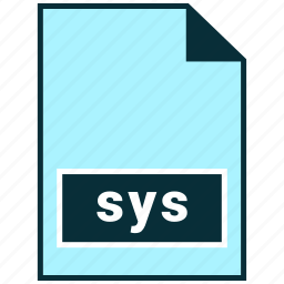 file formats, misc, sys icon