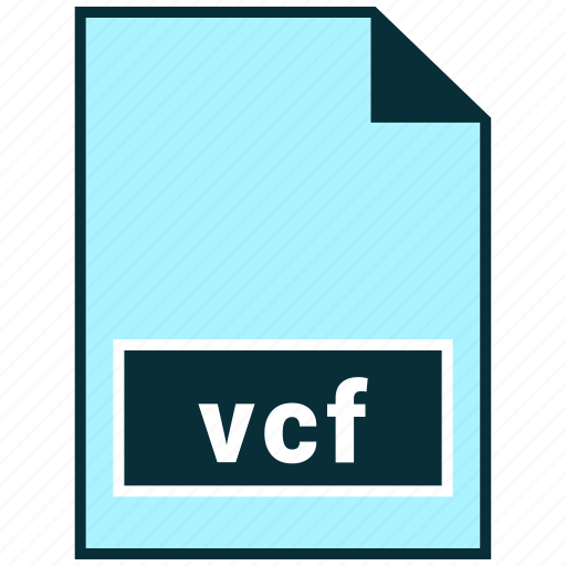 File formats, misc, vcf icon - Download on Iconfinder