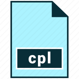 cpl, file formats, misc icon