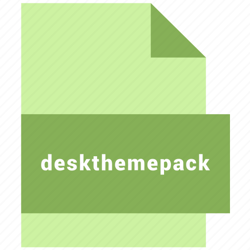 deskthemepack, misc file format icon