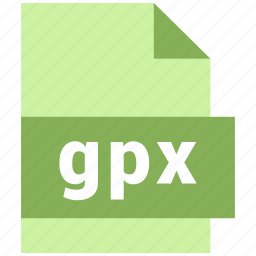 gpx, misc file format icon