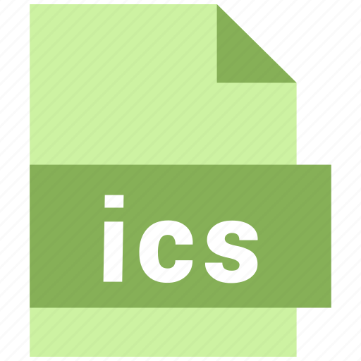 ics, misc file format icon