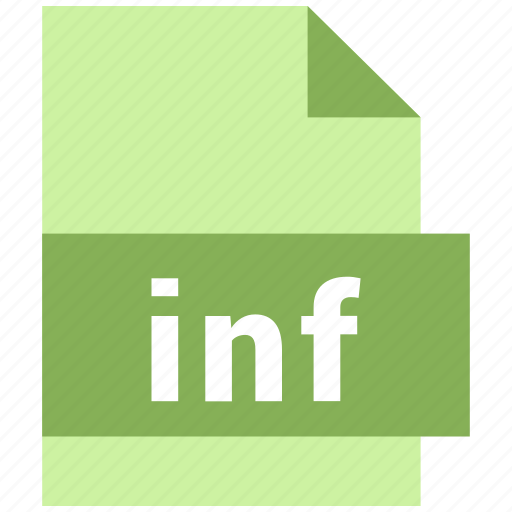 inf, misc file format icon