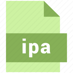 ipa, misc file format icon
