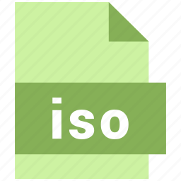 iso, misc file format icon