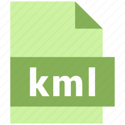 kml, misc file format icon