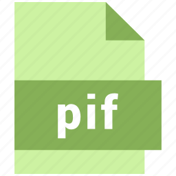 misc file format, pif icon