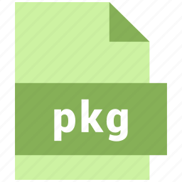 misc file format, pkg icon