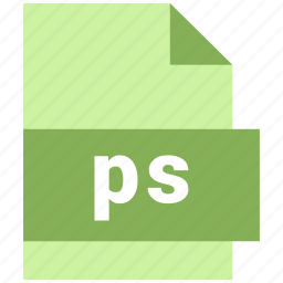 misc file format, ps icon