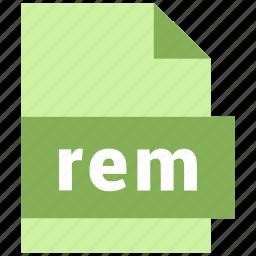 misc file format, rem icon