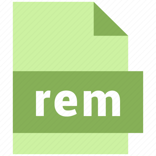 misc file format, rem icon
